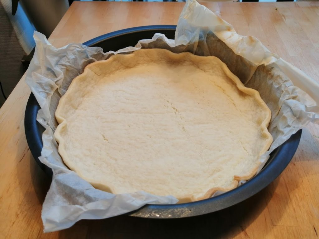 Quiche blindbacken