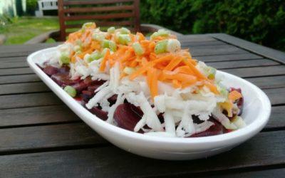 Feine Knollen: Salat aus Wurzelgemüse